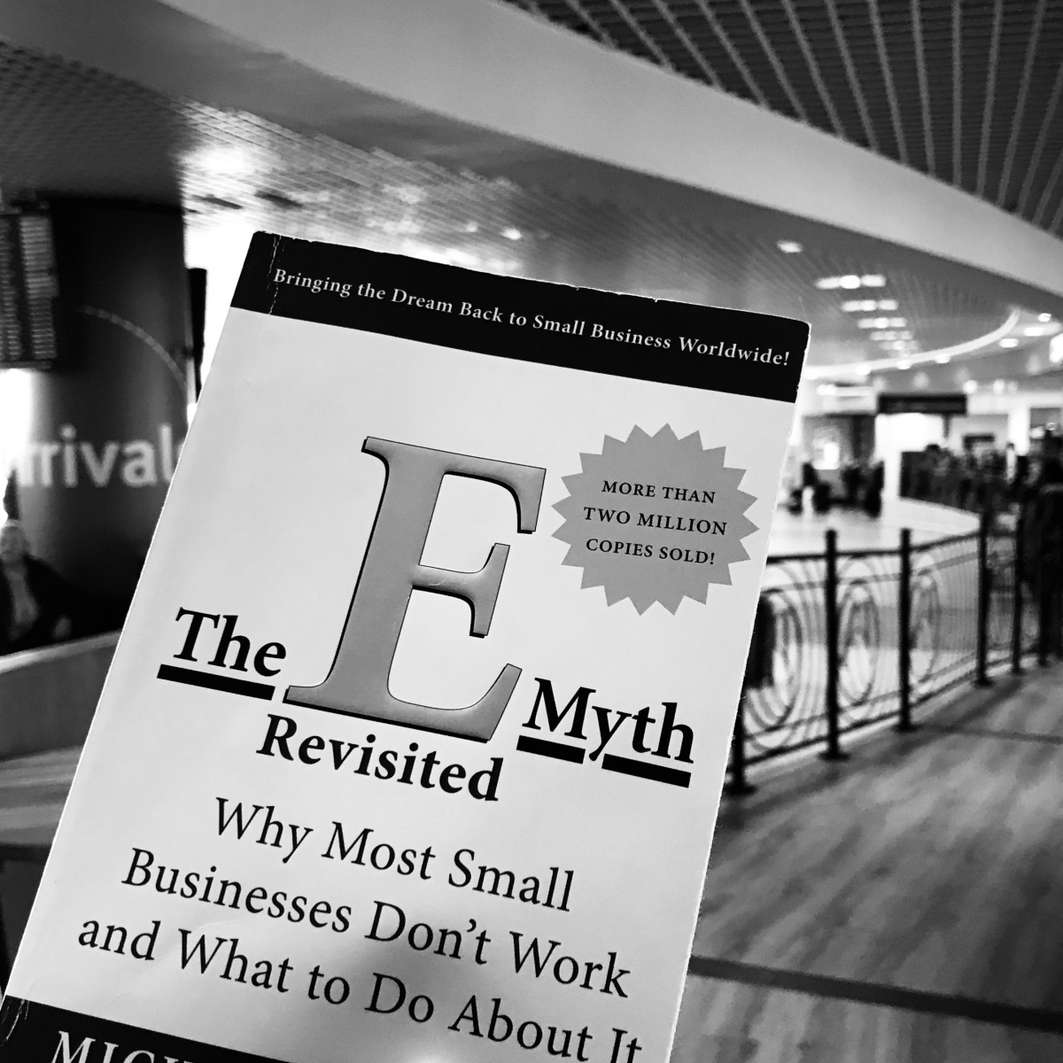 The E-Myth business book by Stephen Gerber